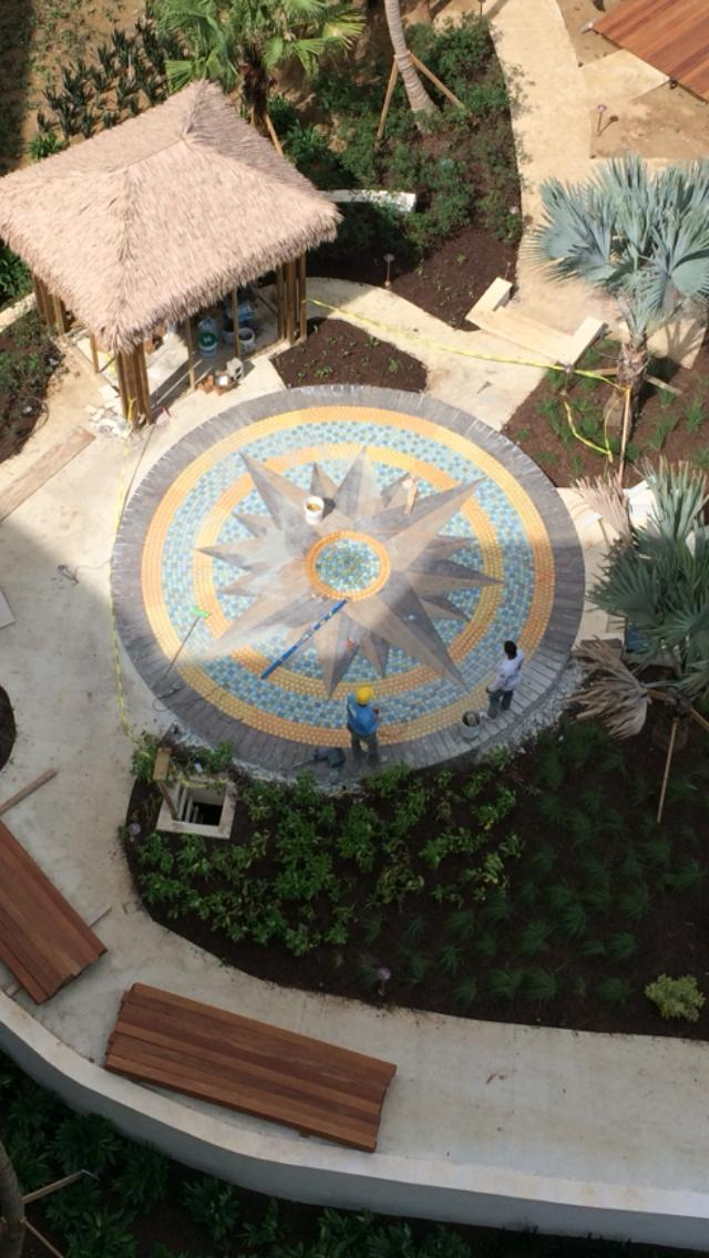 Rio  Mar  Mville Compass Rose