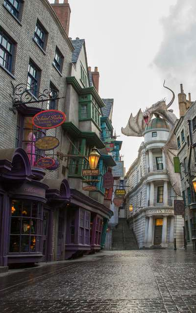 The Wizarding World of Harry Potter at Universal Orlando.