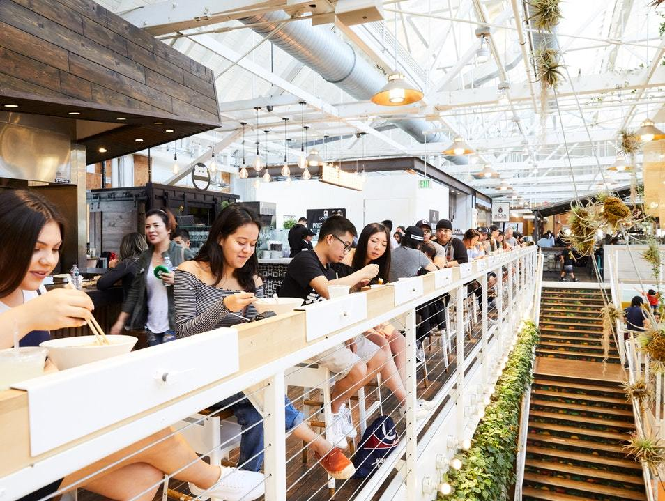 October Architecture and Interior Design Trends: Anaheim Packing District: Food Hall
