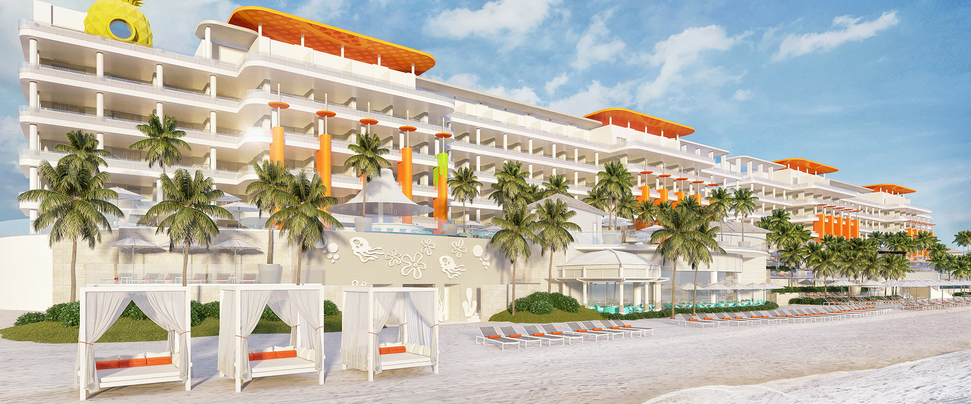 Nickelodeon Hotels & Resorts Riviera Maya opens in 2020.