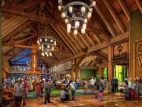 Great Wolf Lodge Lobby Concept